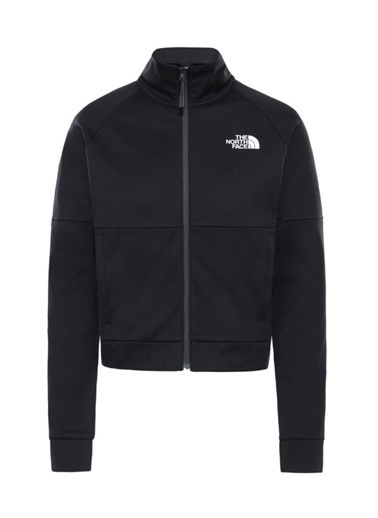 The North Face The North Face Active Trail Tam Fermuarlı Kadın Sweatshirt Siyah Siyah